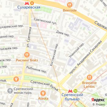 Интрейд на Яндекс.Картах
