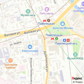 Сервье на Яндекс.Картах