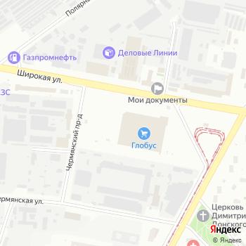 Гепарт на Яндекс.Картах