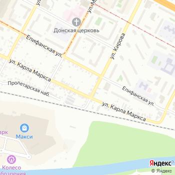 Почта с индексом 301770 на Яндекс.Картах