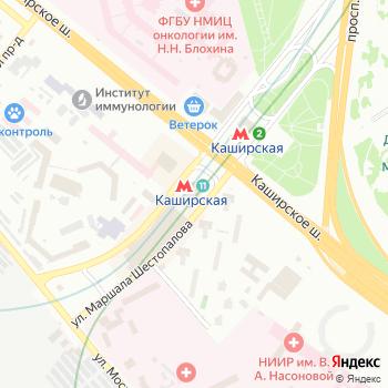 Станция Каширская на Яндекс.Картах