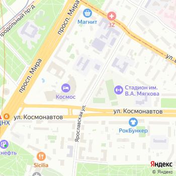 Лимузёнок на Яндекс.Картах