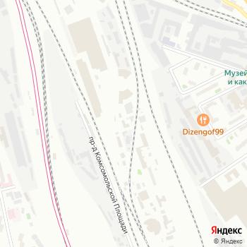 Трансстроймеханизация на Яндекс.Картах