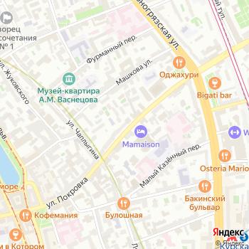 Центр занятости населения Центрального административного округа на Яндекс.Картах