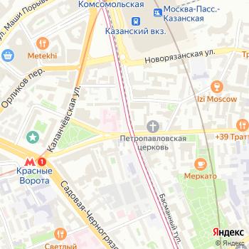 Центральное информационно-туристическое агентство на Яндекс.Картах