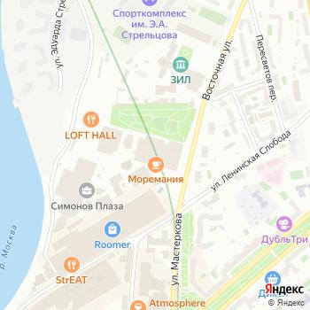 AIRBAG на Яндекс.Картах