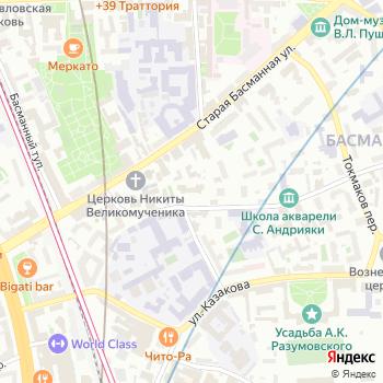 Управление социальной защиты населения Басманного района на Яндекс.Картах