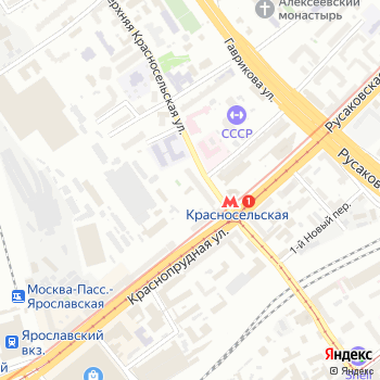 ПасТер на Яндекс.Картах