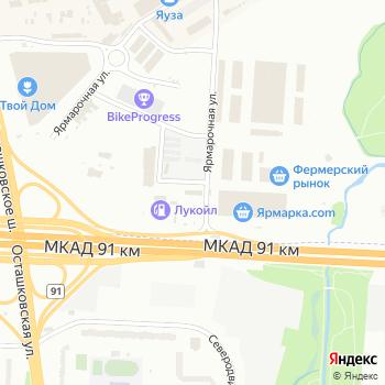 Хартия-М на Яндекс.Картах