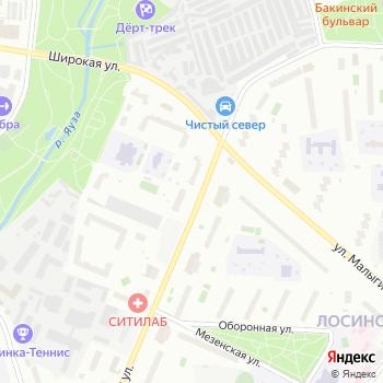 Тайга на Яндекс.Картах