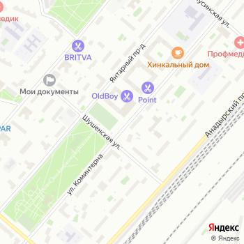 Красная Стрела на Яндекс.Картах