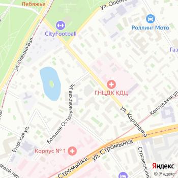 Северное Сияние на Яндекс.Картах