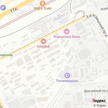 Сиринга-стиль на Яндекс.Картах