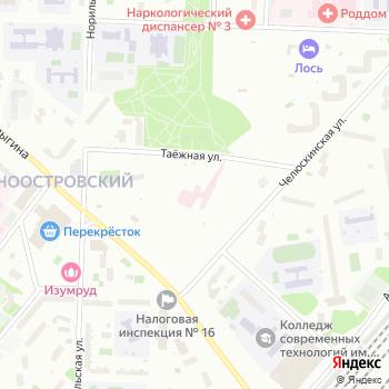 Угодие на Яндекс.Картах
