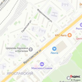 СДЮСШОР №81 по лыжным гонкам и биатлону на Яндекс.Картах