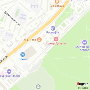 Физкультурно-оздоровительный центр на Ярославском шоссе на Яндекс.Картах