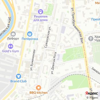 ПиТЕК на Яндекс.Картах