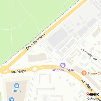 ОКБ КП на Яндекс.Картах