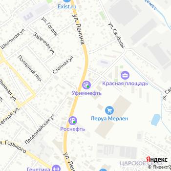 АЗС Уфимнефть на Яндекс.Картах