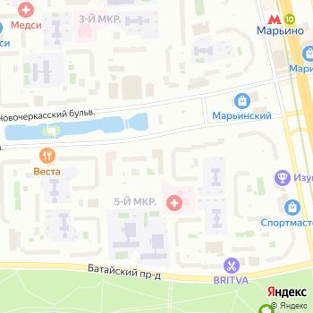 Почта с индексом 109144 на Яндекс.Картах