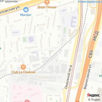 Почта с индексом 107553 на Яндекс.Картах