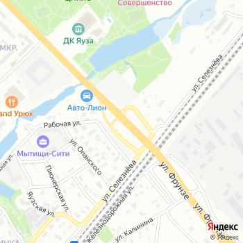 АЗС Исткор-М на Яндекс.Картах