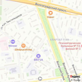 Стены и Фасады на Яндекс.Картах