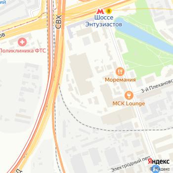 Проекционные технологии на Яндекс.Картах