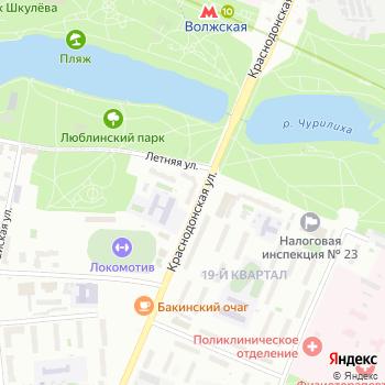 Управление физической культуры и спорта Юго-Восточного административного округа на Яндекс.Картах