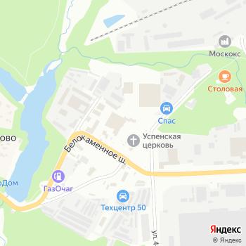 Видновское ПАТП на Яндекс.Картах