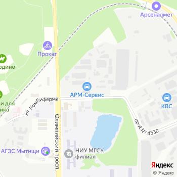 Олимп-Авто на Яндекс.Картах