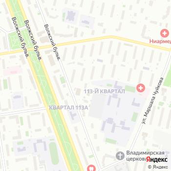 Аква на Яндекс.Картах