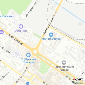 Скат А на Яндекс.Картах