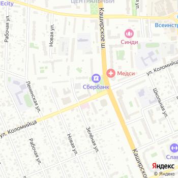 ДАВС на Яндекс.Картах