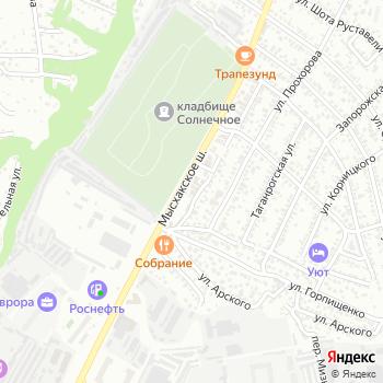 Пруссия на Яндекс.Картах