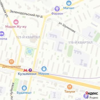 Автостоянка №29 на Яндекс.Картах