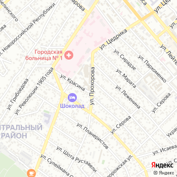 Медком-Юг на Яндекс.Картах