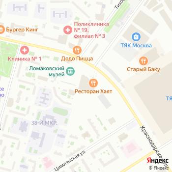 Принкс на Яндекс.Картах