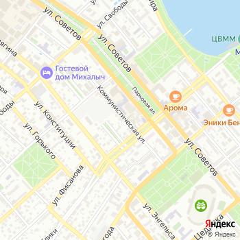 Черноморские скоростные линии на Яндекс.Картах