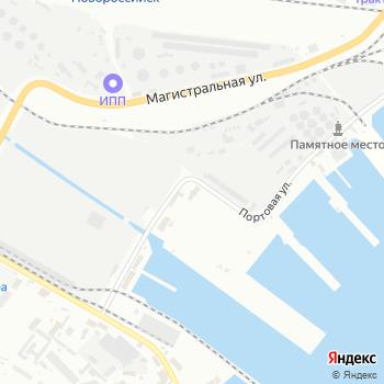 Ростэк-Новороссийск на Яндекс.Картах
