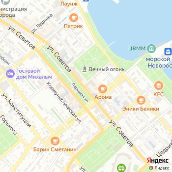 Черноморский на Яндекс.Картах