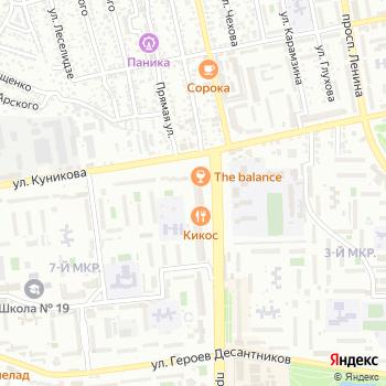 М-арт на Яндекс.Картах