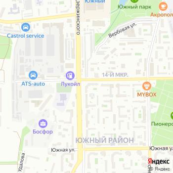 Мегуми на Яндекс.Картах