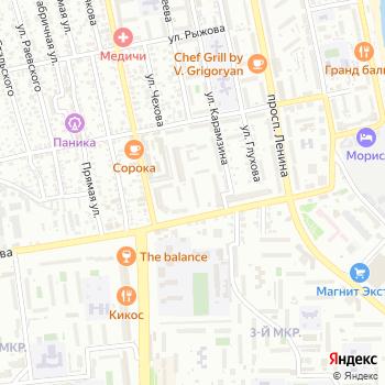 Раки на Яндекс.Картах