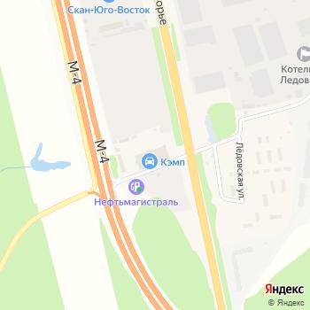 Кэмп на Яндекс.Картах