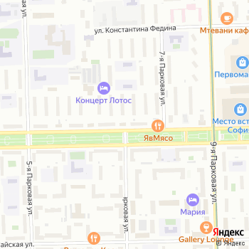 Сауна на Сиреневом бульваре на Яндекс.Картах