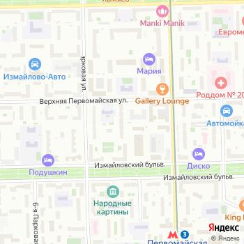 Управление физической культуры и спорта Восточного административного округа на Яндекс.Картах