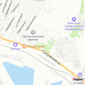 Почта с индексом 353902 на Яндекс.Картах