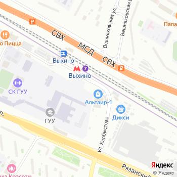 Мастерская по ремонту одежды на Рязанском проспекте на Яндекс.Картах