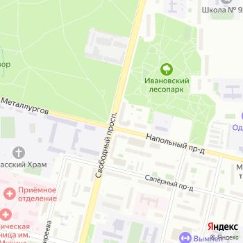 Управление социальной защиты населения Ивановского района на Яндекс.Картах
